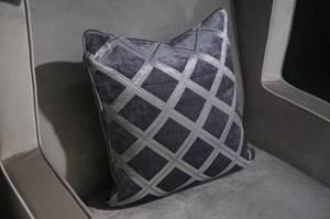 Bilde av Austen pute 60x60 grå