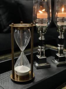 Bilde av Timeglass messing