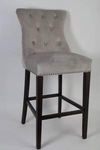 Bilde av New york barstol lysgrå/beige
