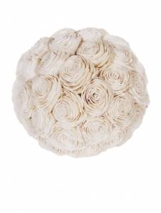 Bilde av Natural bleached floral ball D: 30cm