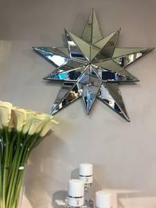 Bilde av Vegg stjerne i speil