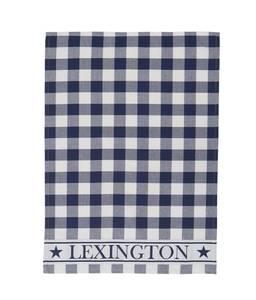 Bilde av Lexington kjøkkenhånkle blå/hvit