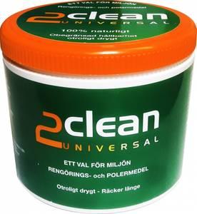 Bilde av 2clean Universal rengjører, polerer og beskytter.