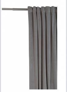 Bilde av Lyse grå velur gardin H:3m