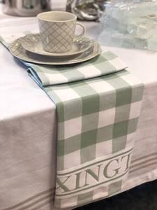 Bilde av Lexington kjøkkenhånkle grønn/hvit