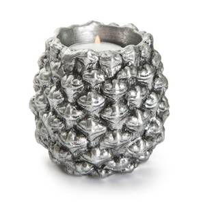 Bilde av Dekorkongle Lodge telyslykt sølv