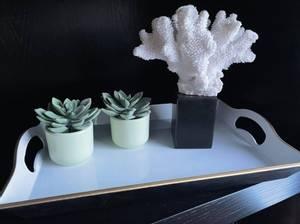Bilde av Coral table piece