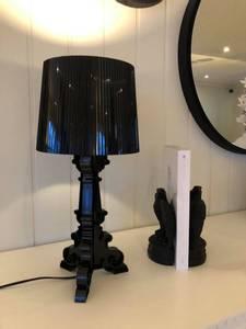 Bilde av Paragon bordlampe svart liten