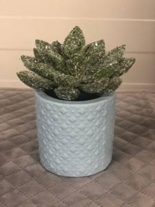 Bilde av Mini potte lyseblå