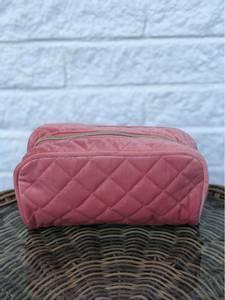 Bilde av Sminkepung i rosa velur