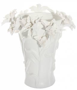Bilde av Lilje vase hvit matte