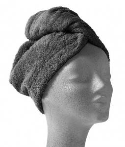 Bilde av Nord turban Mørk grå