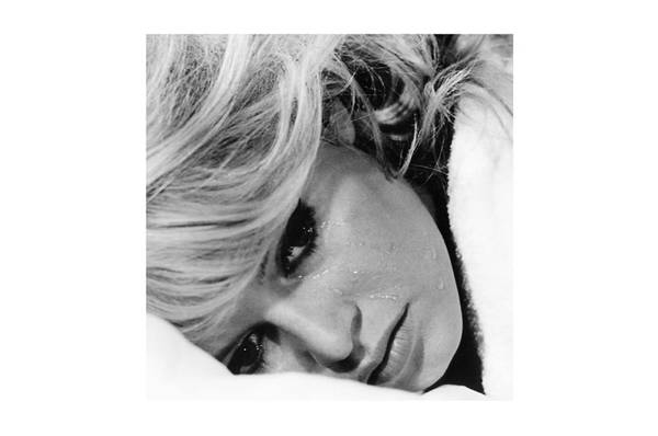 Brigitte Bardot glass bilde 120x120
