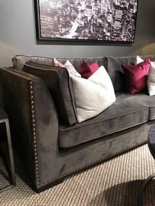 Bilde av Manhattan sofa muldvarp velour