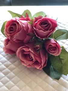 Bilde av Mørk rosa rose bundt