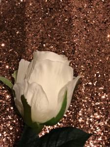 Bilde av Bronse glitter tapet