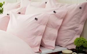 Bilde av Icons Pin Point Pillowcase, Pink/White