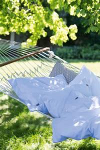 Bilde av Blue/White Striped Tencel/Cotton Duvet Cover