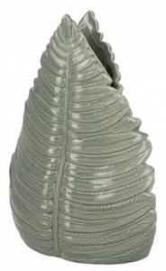 Bilde av Vase keramikk grønn 18x8x23cm