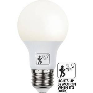 Bilde av  LED E27 A60 SENSOR/MOTION SENSOR OPAL 806lm -