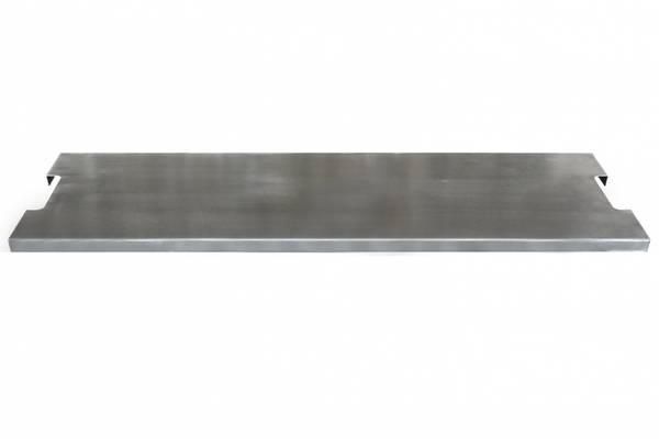 Bilde av Deksel i rustfritt stål for avlang brenner