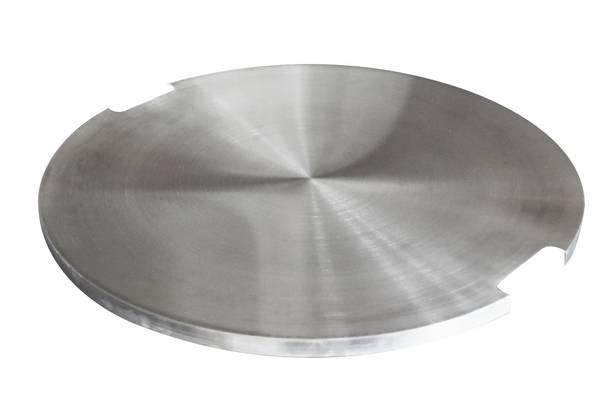Bilde av Deksel i rustfritt stål for rund brenner -