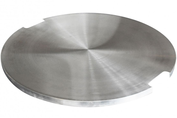Bilde av Deksel i rustfritt stål for rund brenner - Lunar