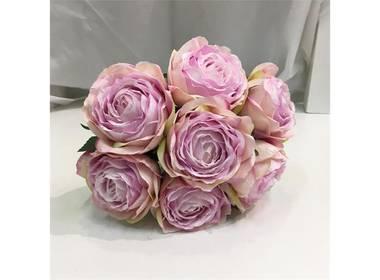 Rosebukett rosa