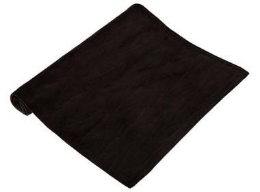 Brikke i sort velur aks mønster