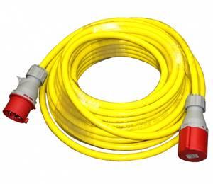 Bilde av 63A 400V 10m - PUR-kabel