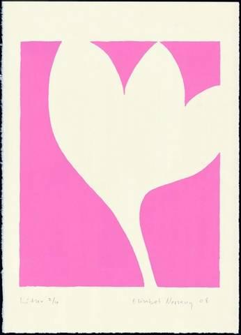 Bilde av Rosa blomst av Elisabet Norseng