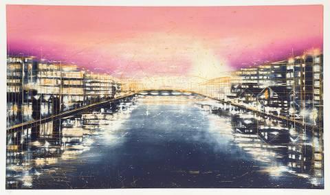 Bilde av Perspektiv (rosa) av Frank Brunner