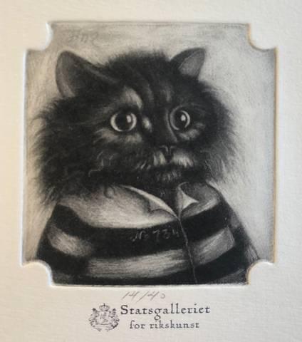 Bilde av Fangenr. 734: Wilbert Untzendyck av Felix Fiigenschou