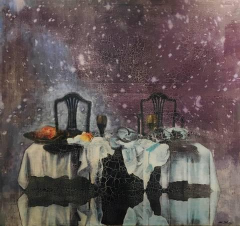 Bilde av Alltid der for deg II maleri av Elisabeth Werp