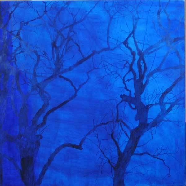 Trekrone (blå) av Ann Lundstrøm