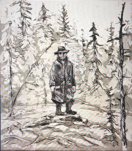Bilde av Skogens mann av Kristian Finborud