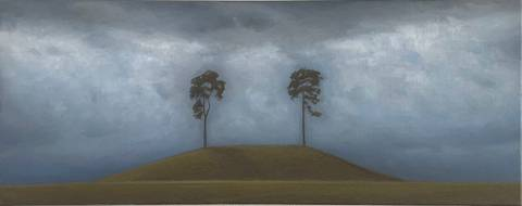 Bilde av To trær II (2021) av Christopher Rådlund