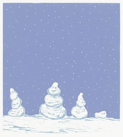 Bilde av Det sner av Eli Hovdenak