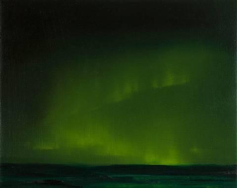 Bilde av Northern Lights II av Ingeborg Stana