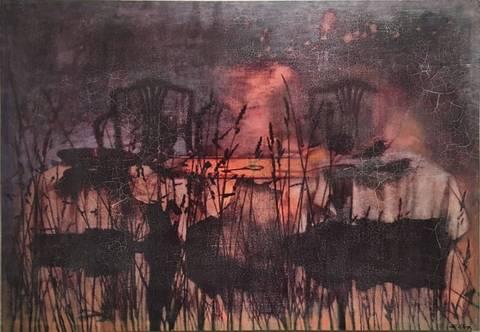 Bilde av Alltid der for deg III tempera maleri  av Elisabeth Werp