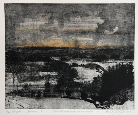 Bilde av Farfars landskap om vinteren I av Odd Skullerud