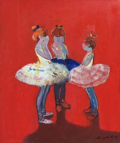 Bilde av Unge Ballerinaer av Dang Van Ty