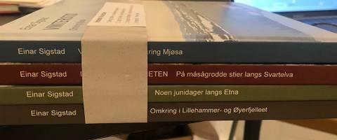 Bilde av Innlandet I fire årstider - 4 bøker av Einar Sigstad