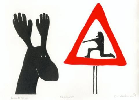 Bilde av Fatalist av Eli Hovdenak m/ramme