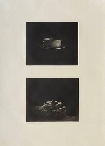 Bilde av Bare kaffe, bare hender av Ole Rosén (p.t.)