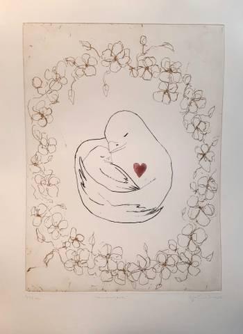 Bilde av Mammahjerte av Anja Cecilie Solvik