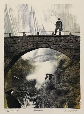 Bilde av Fiskere av Einar Sigstad