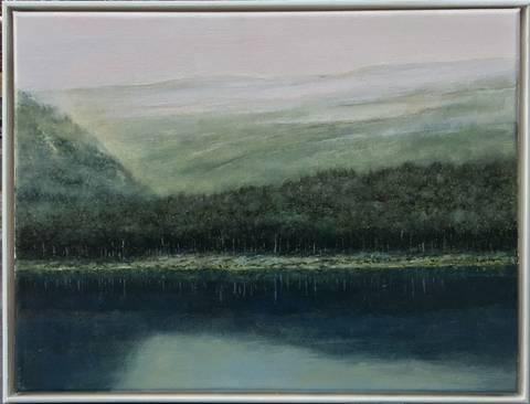 Bilde av Landskap 1, maleri  av Geir Brohjem