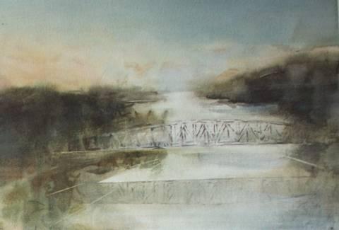Bilde av Langs Glomma 4 av Mona Grønstad