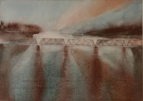 Bilde av Langs Glomma 2 av Mona Grønstad